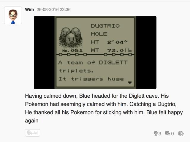 Let's play Pokemon Blue, Miiverste style part 5