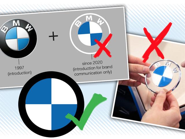 Đây là cách BMW vặn vẹo Thiết kế lại logo của nó