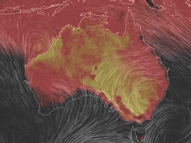 Australia puede ver el día más caluroso jamás registrado esta semana