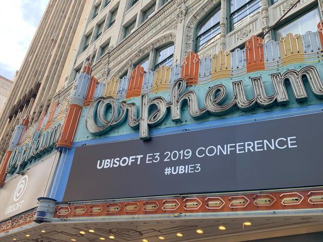 Regardez la présentation d'E3 2019 d'Ubisoft en direct, ici-même [Mise à jour: c'est fini!]