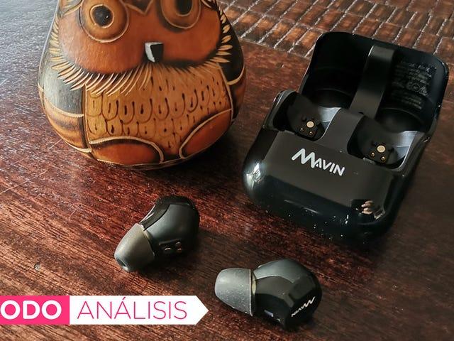 Estos auriculares con 30m de alcance y 50 horas de batería cambiarán la forma en que escuchas música