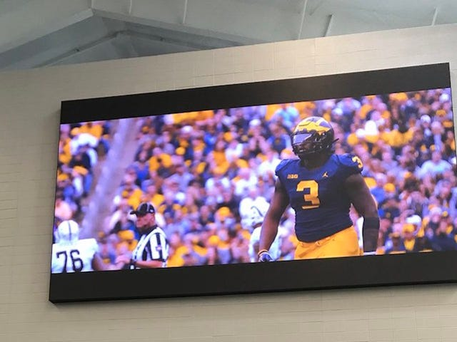 Today In Dumb Shit College Sports Programs Spend Money On Instead Of Paying Players: Gargantuan TV