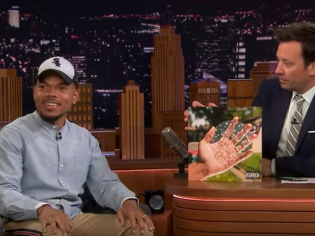 Jimmy Fallon bribes Chance The Rapper to spill all the details about his first album