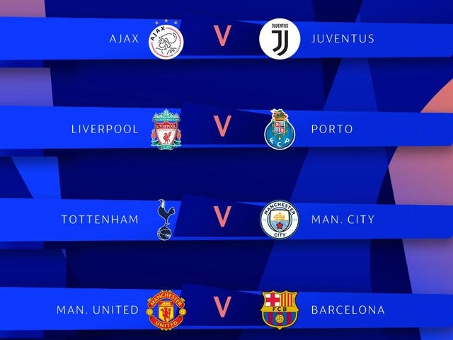 Di Sini Adakah Liga Champion Quarterfinals [UPDATE]