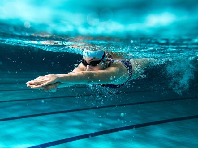 Hvordan var august svømning udfordring?
