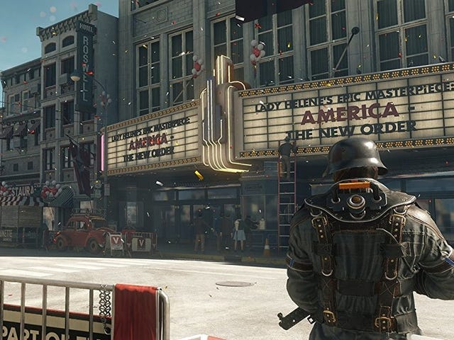 Go Fight the Nazis of Wolfenstein II For $20