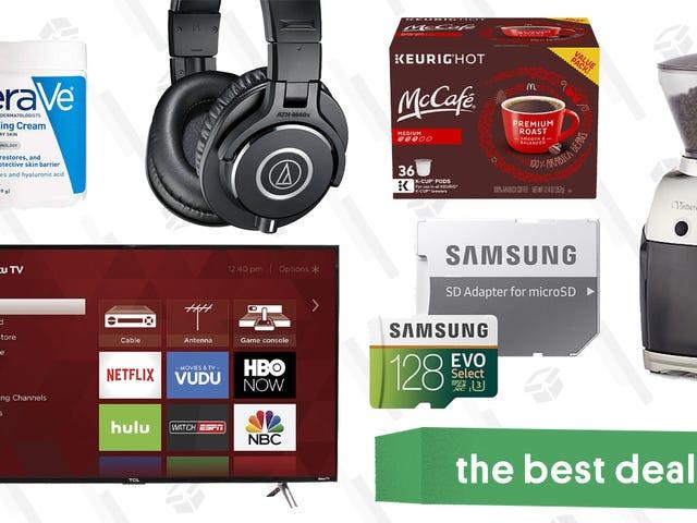 De beste deals van maandag: TCL TV, Diane von Furstenberg, koffiemolens en meer