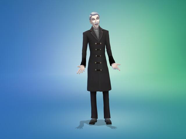 ¡Deja a mis Sims solos, maldita Drácula!