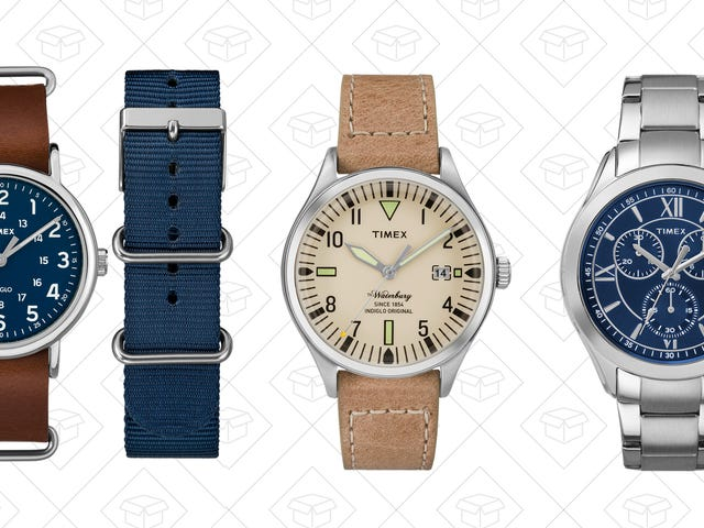 Grab An Extra 25% Off Timex Sale Styles