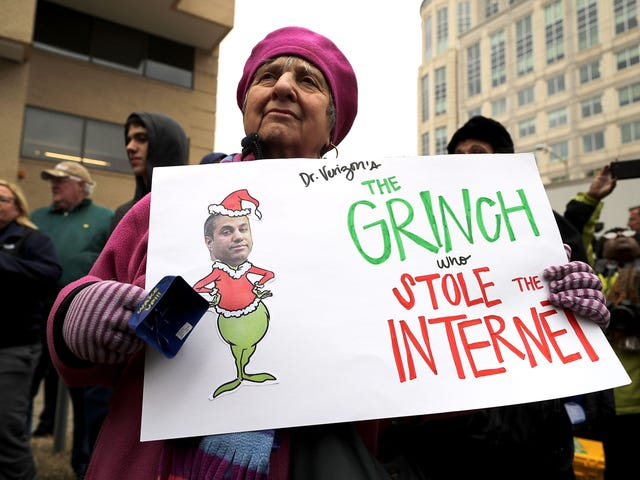 #NetNeutrality: Doomsday Is Here—It's the End of the Internet as We Know It