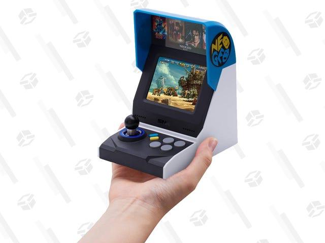 Edisi Antarabangsa Neo Geo Mini Lebih Murah Daripada $ 30