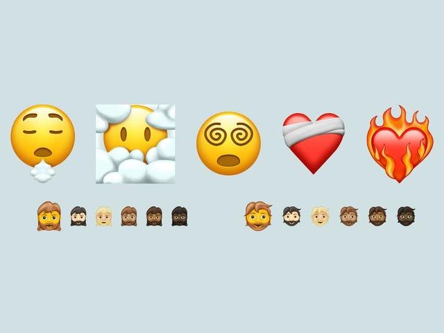 A Handful of New Emoji, Ranked