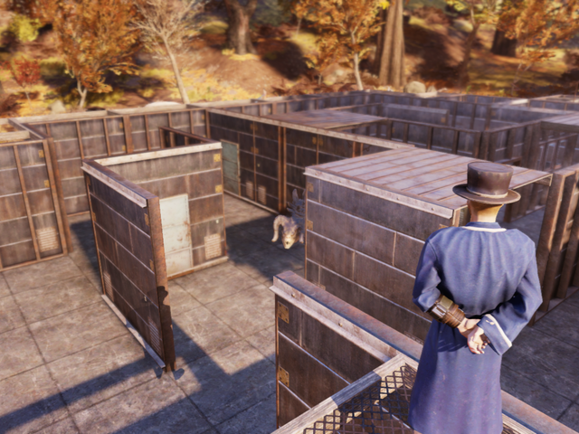 Strange Man Lures Unsuspecting Fallout 76 Players Into Deadly Labyrinth