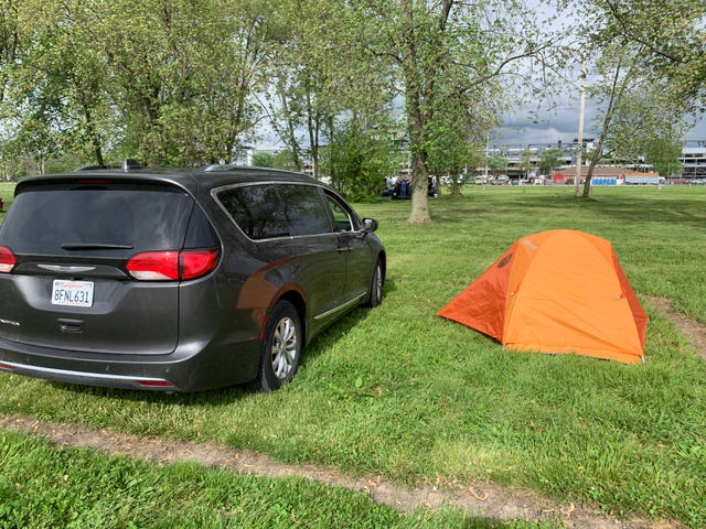 Down at the IMS campground