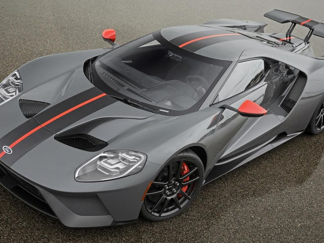 The 2019 Ford GT Carbon Series Makes The GT Even Lighter And Wilder