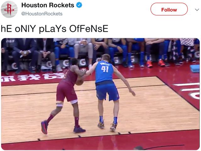 Thirsty Rockets Gloat Over Video Of James Harden Committing Grave Robbery
