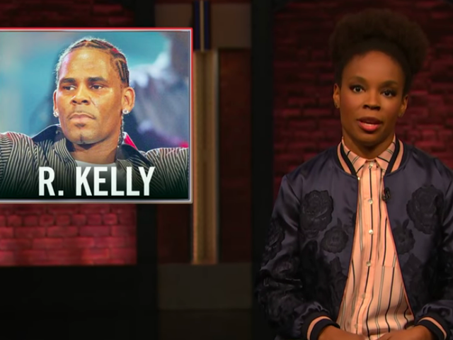 On Late Night, Amber Ruffin takes down R. Kelly for pedophilia, crappy rhymes