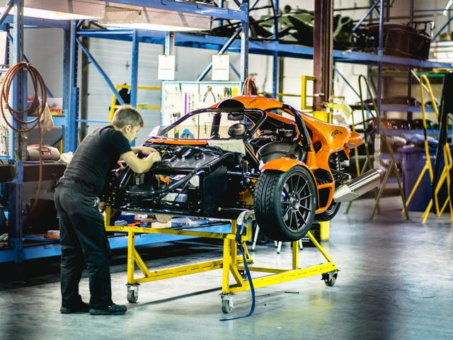 Une des choses les plus folles sur trois roues vient de cette usine canadienne