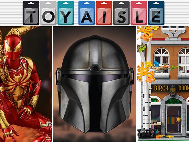 Ξεκινήστε να φτιάχνετε το δικό σας Beskar'gam, και περισσότερα από τα πιο μεταλλικά παιχνίδια της εβδομάδας