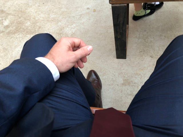 Suits and coyboy boots