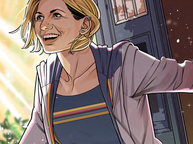 The Thirteenth Doctor's Comic Debut Is a Tiny Slice of Doctor Who Perfection