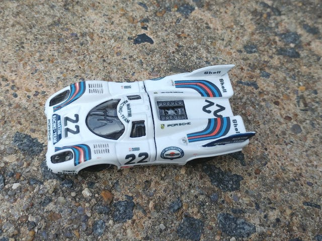 #22 Martini Porsche 917K Build