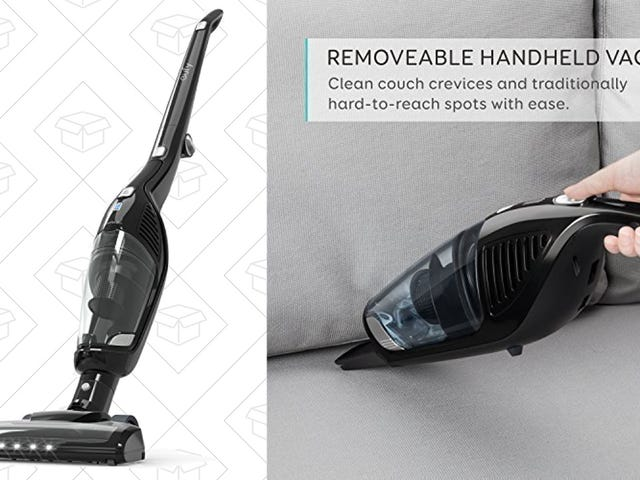 Anker's Cordless 2-In-1 Vacuum Is Down to $50 For the First Time