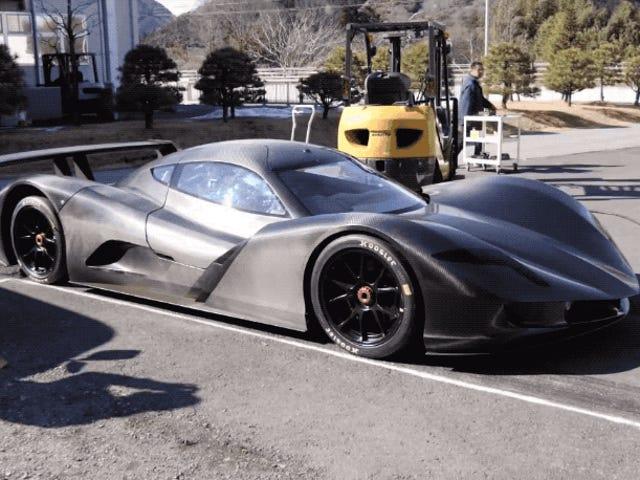 Mejor que Tesla: el coche eléctrico japonés Aspark Owl logra acelerar de 0 a 100 en apenas 1,9 segundos