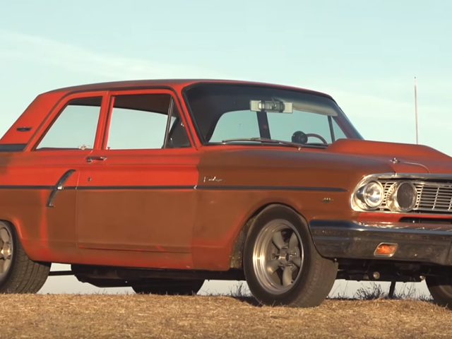 This Ford Fairlane Thunderbolt Tribute Is The Perfect Daily Driver Muscle Car