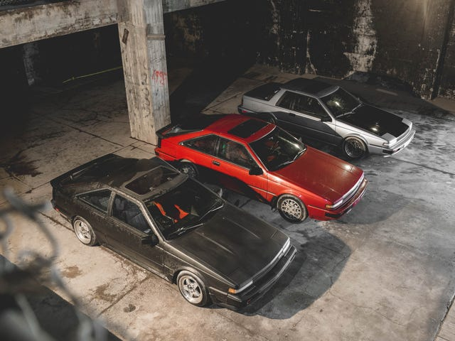 Meet The Die-Hard Enthusiasts Keeping The Nissan 200SX Dream Alive In A NORAD Bunker