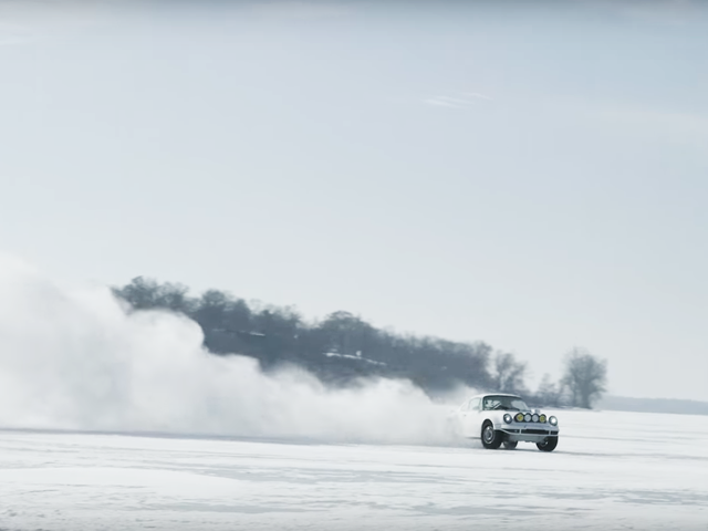 I Got All New Life Goals When I Saw This Rally Porsche On A Frozen Lake