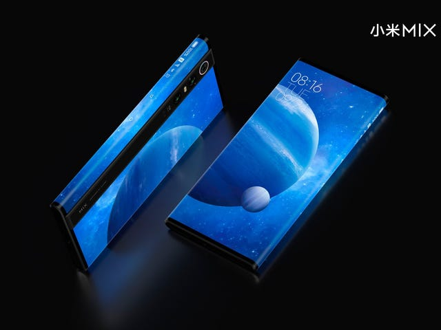 Skærmen omslutter alle vejen rundt på Xiaomis seneste koncepttelefon