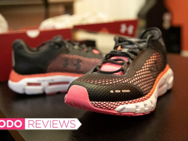 I Thought Under Armours' Smart Running Shoes Were Gonna Be Dumb as Hell, But I Was Wrong