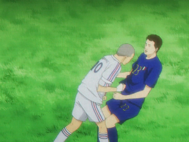 It's the Third World Cup Since the Zidane Headbutt (and the Second Since a Legendary Moment in Anime)
