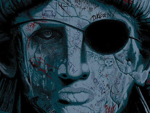 Lady Liberty prend une scène centrale sur cette impressionnante affiche pour <i>Escape From New York</i>