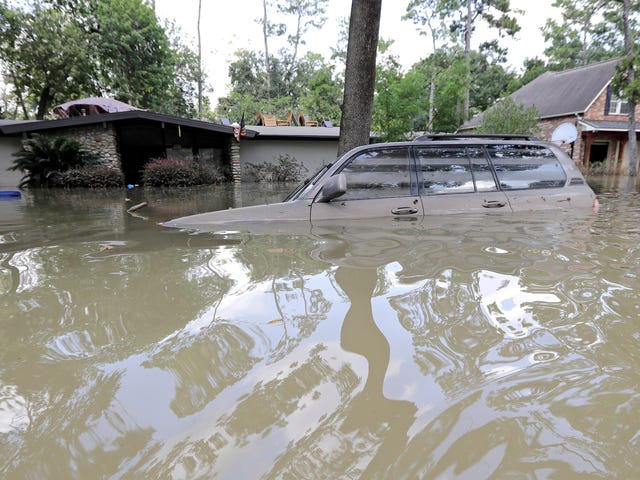 Her er hvad der sker for alle de oversvømmede biler efter orkanen Harvey