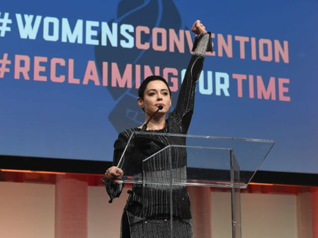 Rose McGowan to Harvey Weinstein: 'You Will Burn'