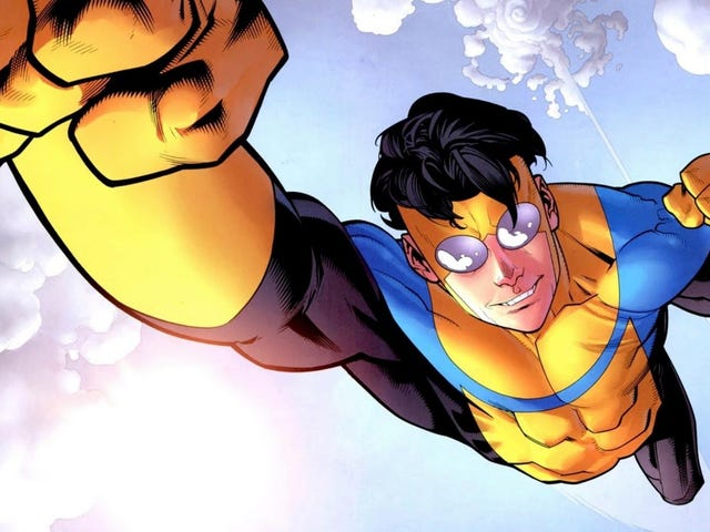 Robert Kirkman's Invincible Is Being Turned Into an Animated Amazon Series