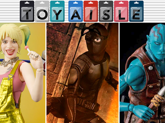 Harley Quinn Leads the Way in the Most Fantabulous Toys of The Week