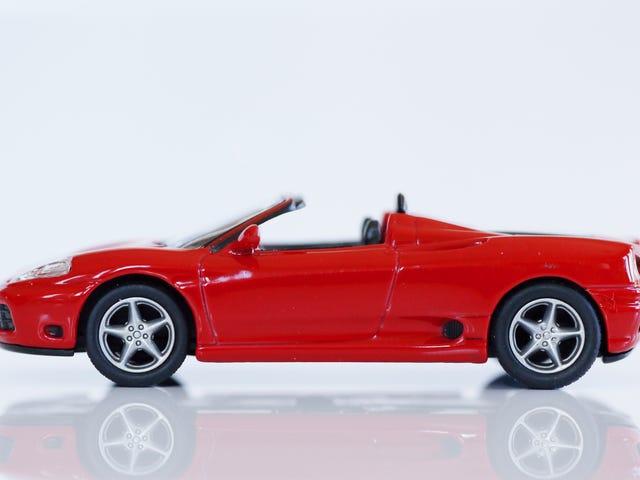 Kyosho Ferrari 5 1/64 #45 - Project Prancing Horse #45 - 2000 Ferrari 360 Spyder