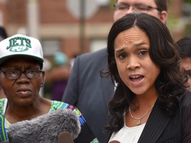 Freddie Gray Didn't Kill Himself, but Cop Obstruction Made It Hard to Prove: Prosecutor