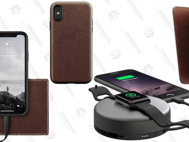 Elevate Your Tech With a Huge Sale On Nomad Gear