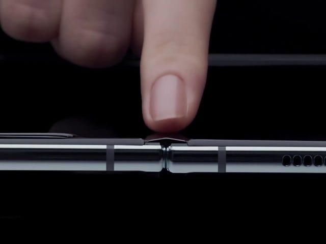 Hvis du køber en Samsung Galaxy Fold, skal du ikke tage den til stranden
