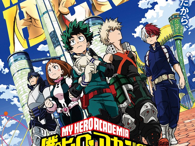 The movie of My Hero Academia will premiere on the Anime Expo!