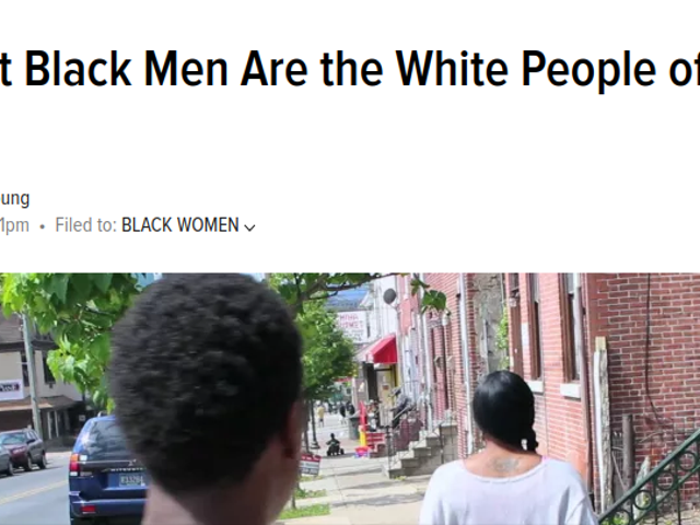 A Look Back at the Reaction to 'Straight Black Men Are the White People of Black People' a Year Later