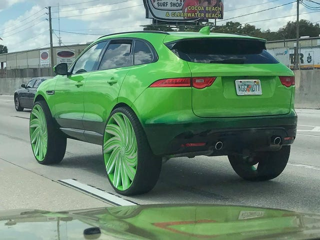 I'm Impressed, The F-Pace Hasnt Even Been Out Very Long
