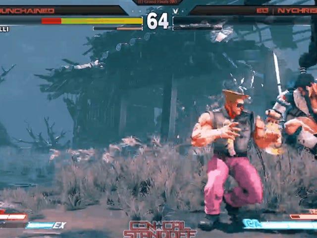 <i>Street Fighter V</i> spiller vinner turnering med utrolig nær-null helse comeback