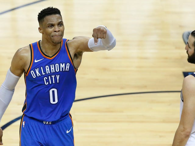 Russell Westbrook Brought The Thunder Back