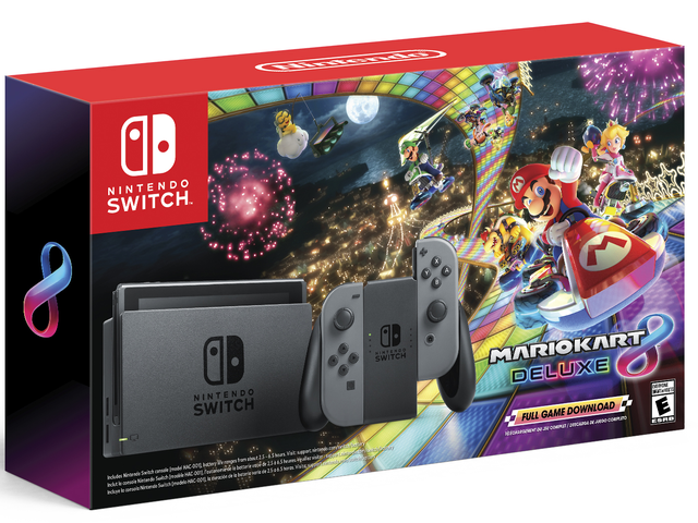 Buyer Beware: Nintendo's Black Friday Switch Bundle Is The Old, Low-Battery Model