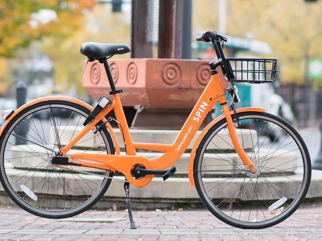Бездротові велосипеди-поділ стартапів приносять хаос на Сіетлі